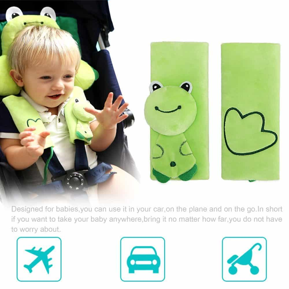 Baby Travel Pillow, FOME Kids Baby Toddler Neck Pillow Neck Support ...