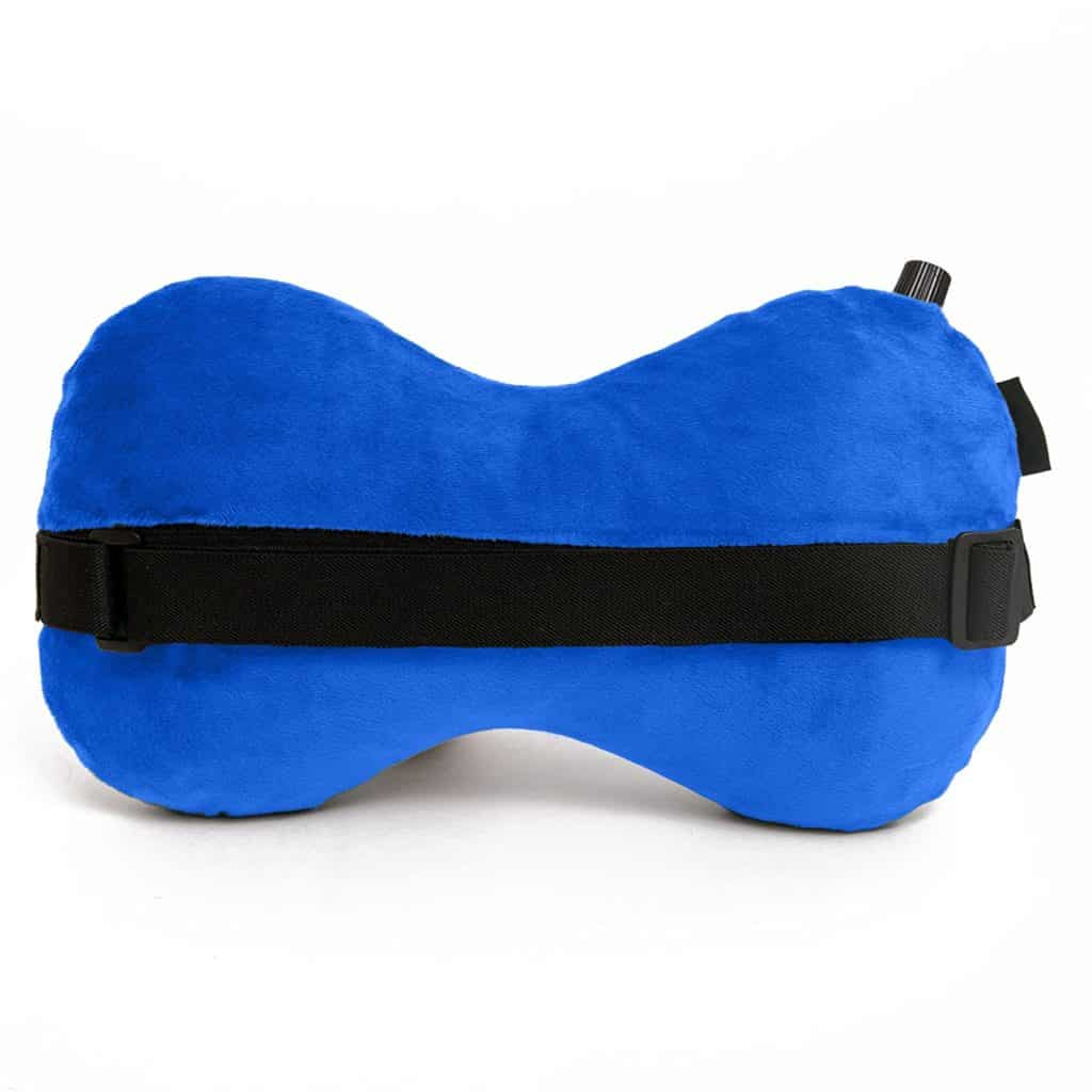 Aircomfy Ease Inflatable Neck Travel Pillow Luxuriously