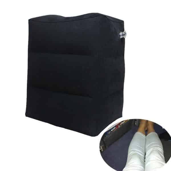 AirGoods Inflatable Foot Rest Pillow for Kids to Sleep on Airplanes