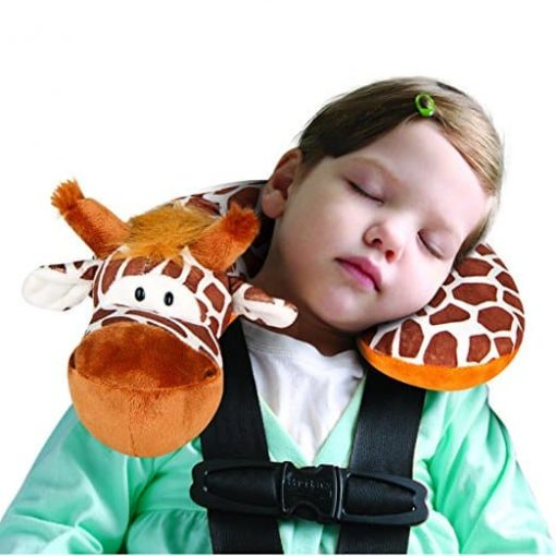 Animal Planet Travel Pillow for Kids, Giraffe