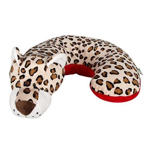 Animal Planet Travel Pillow for Kids, Leopard
