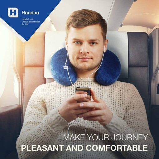 BEST CHOICE 2018 TRAVEL Neck PILLOW - Your Best Neck Pillows for travel on a Train, Airplane, Car, Bus or Camping - Best Support For Your Neck