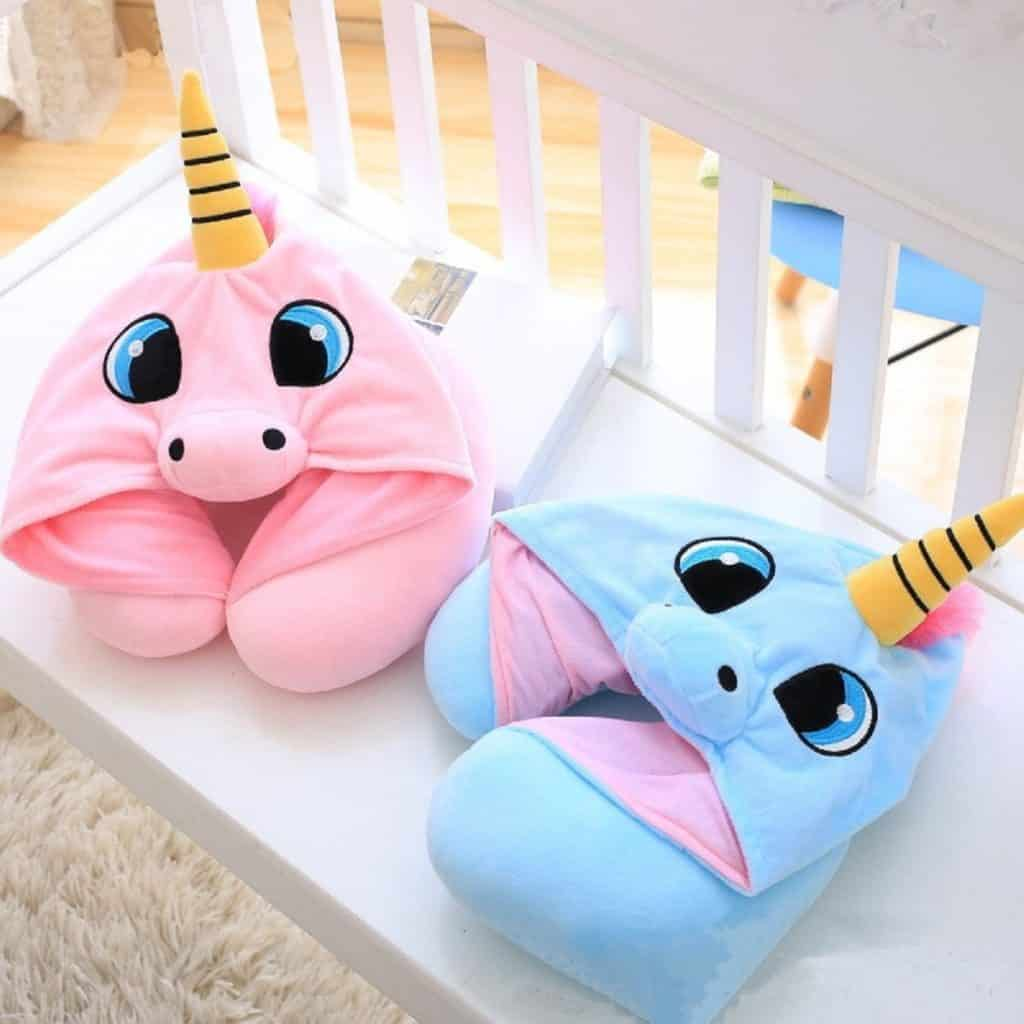 Cutie Nap Pillow Back Cushion Travel Office Reading Headrest Funny Gift