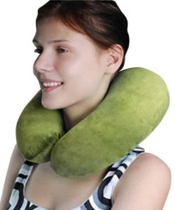 Dinosaur Convertible 2-in-1 Adorable Travel Companion & U-Shaped Pillow