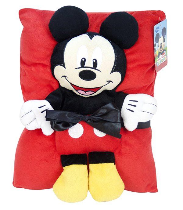 Disney Mickey Mouse Travel Snuggle Set