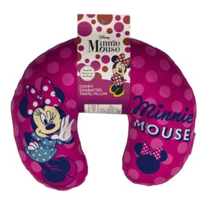 "Disney Minnie Mouse ""Polka Dot Wink"" Travel Neck Pillow"