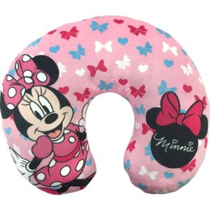 Disney Minnie Mouse Bows Travel Neck Pillow, Bows Neck Pillow