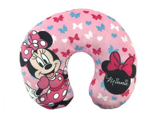 Disney Minnie Mouse Bows Travel Neck Pillow, Bows Neck Pillow