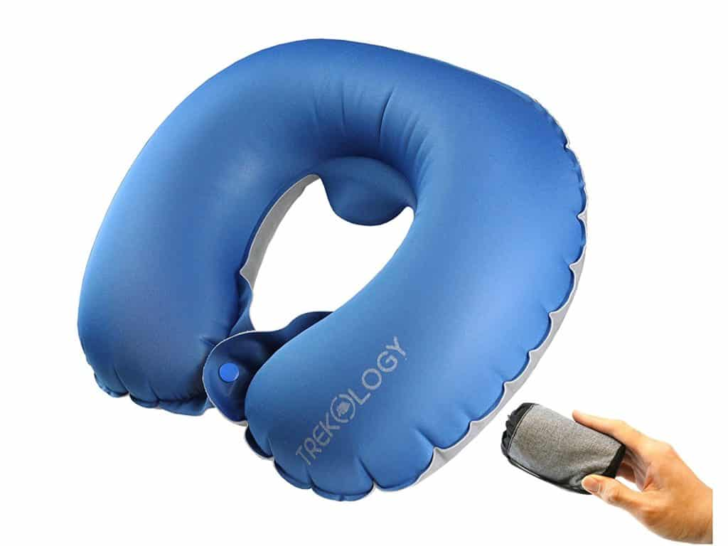 Neck Travel Pillows Inflatable Airplane Pillow Neck