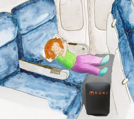Inflatable Travel Pillow Bed