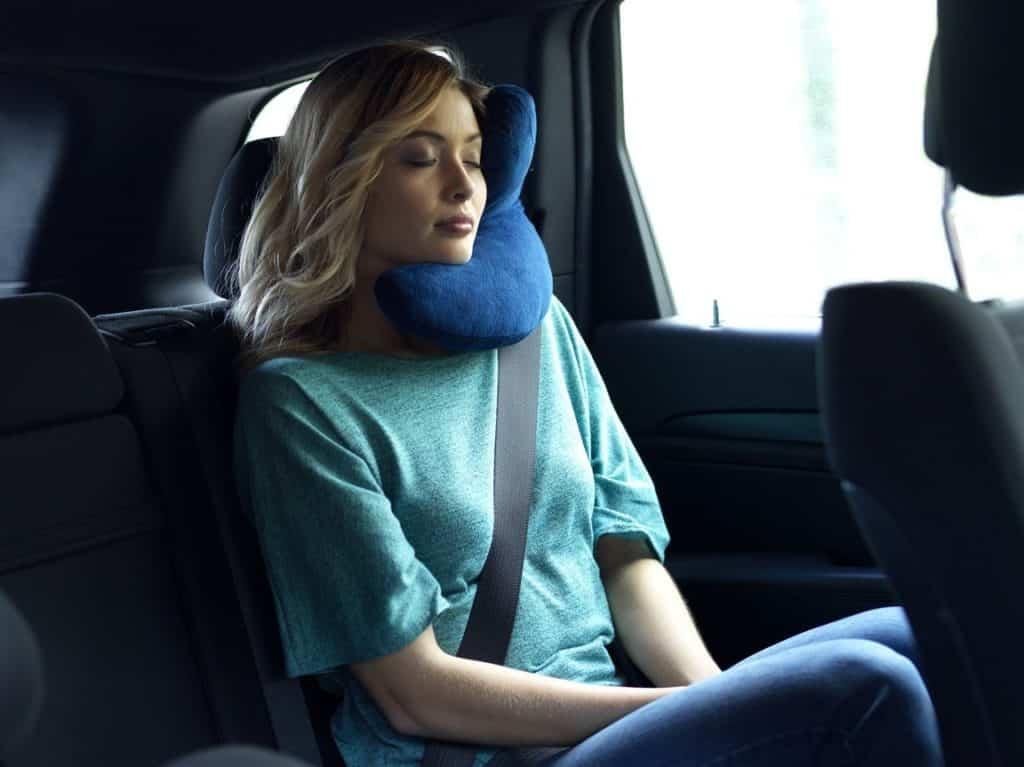 J Pillow Travel Pillow Head Chin Neck Support