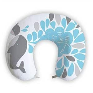 JessPad U-Shape Travel Pillow Welcome Baby With Dolphin Memory Foam Neck Pillow