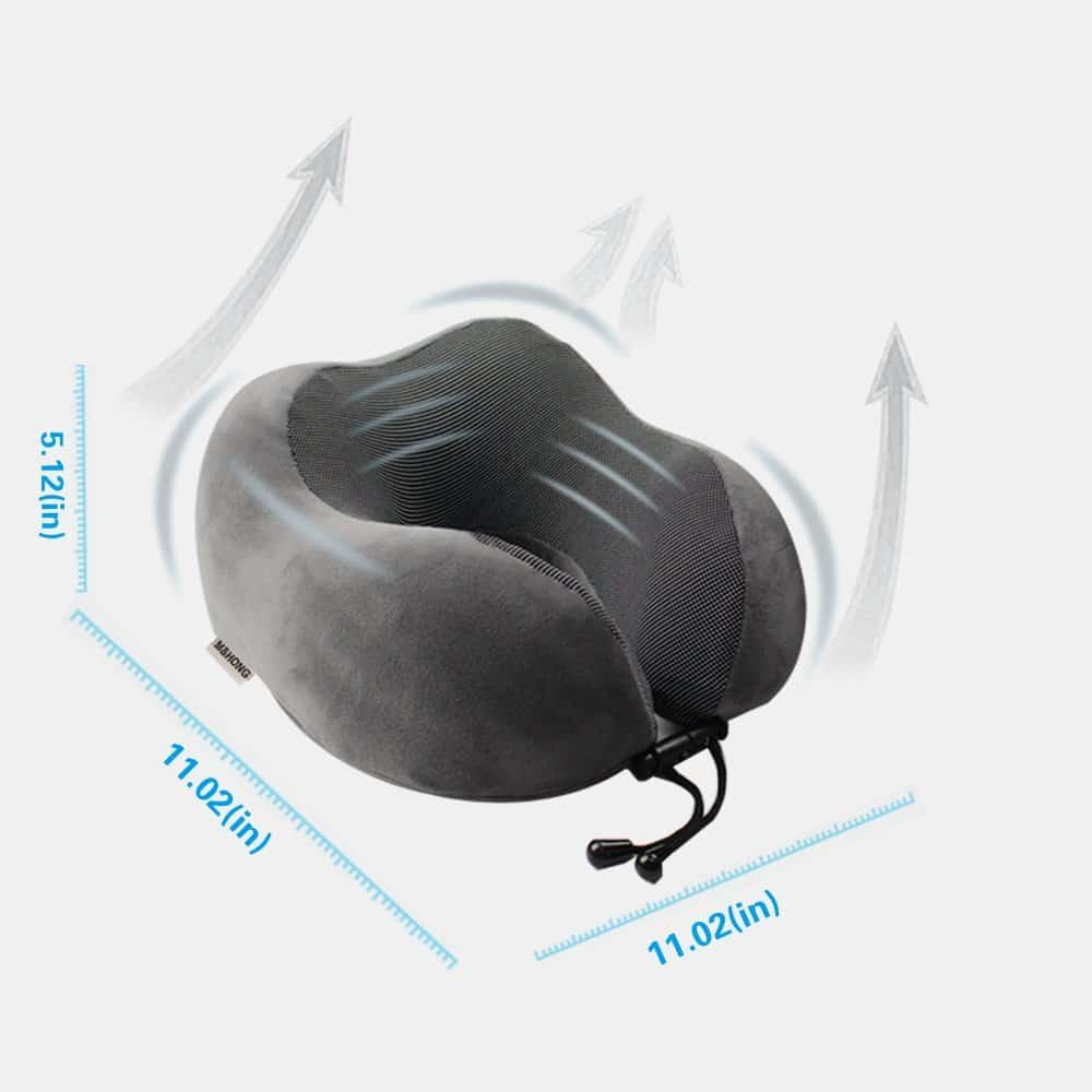 M Amp Hong Travel Pillow Memory Foam Neck Pillow With 360