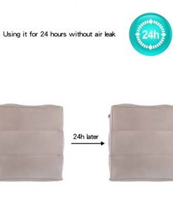 NAVESTAR Inflatable Foot Rest for Air Travel, Portable Leg Rest Pillow for Kids to Rest Feet and Sleep in Airplane