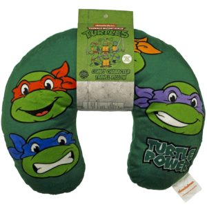 Nickelodeon Teenage Mutant Ninja Turtles Retro Heads Travel Neck Pillow