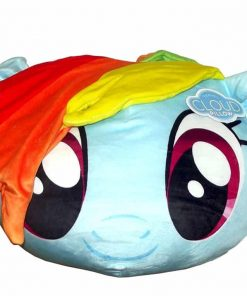 Northwest My Little Pony,Rainbow Dash 3D Ultra Stretch Cloud Pillow, 14""