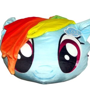 "Northwest My Little Pony,Rainbow Dash 3D Ultra Stretch Cloud Pillow, 14"""