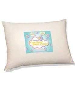 Organic Toddler Pillow by Kids Count Sheep. Hypoallergenic Washable. Pediatrician and Chiropractor Recommended for Children. (13 X 18 X 3) Wonderful Travel Pillow in the Car, Plane, Sleepovers and Nap Time. (Ages 2 and Up) Made in the USA.