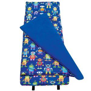 Original Nap Mat, Olive Kids by Wildkin Children's Original Nap Mat with Built in Blanket and Pillowcase