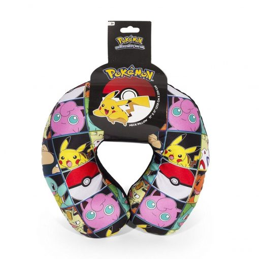Pokemon Multi Character Travel Neck Pillow