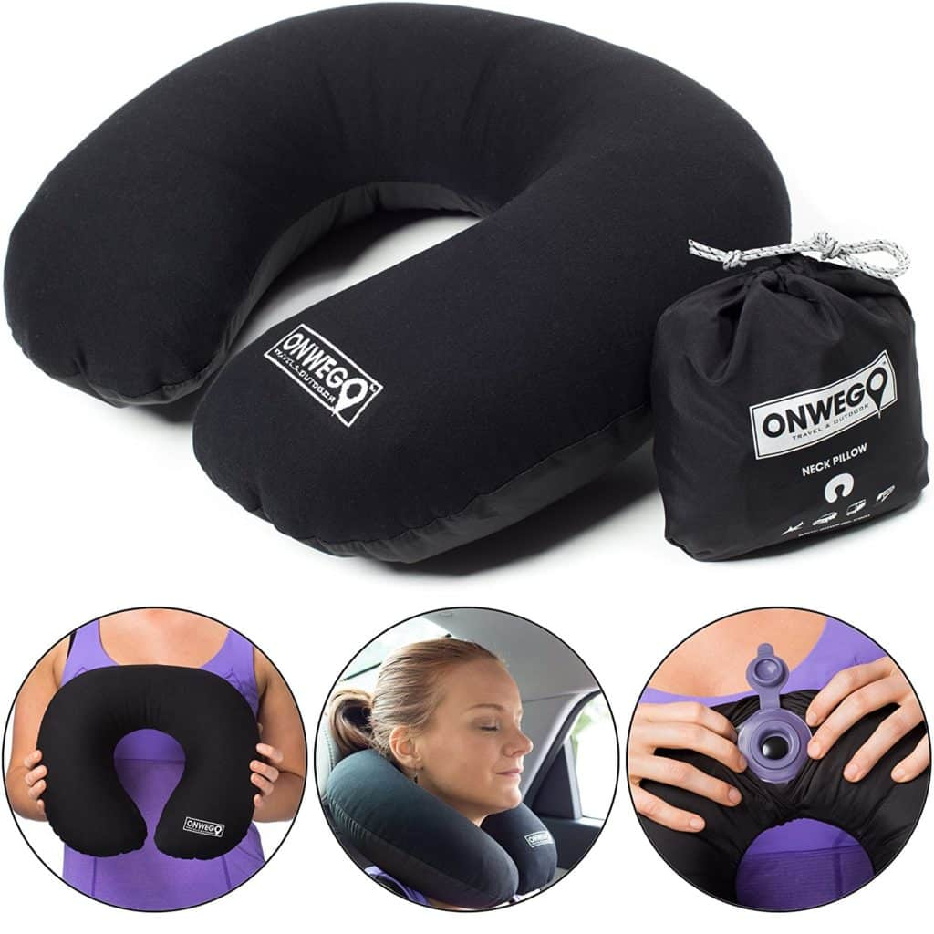 Soft Top Inflatable Neck Pillow For Travel Our Super