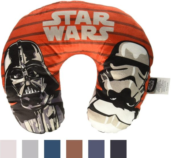 Star Wars Empire Stripe Red Neck Pillow