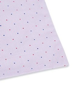 TILLYOU Toddler Travel Pillowcase Pillow Sham 16x20 2 Pack 100% Cotton Cozy Pillow Cases for Pillows Sized 14x19 15x20, Pink Dot