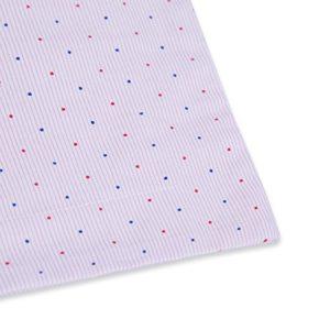 TILLYOU Toddler Travel Pillowcase Pillow Sham 16x20 2 Pack 100% Cotton Cozy Pillow Cases for Pillows Sized 14x19 15x20, Pink Dot