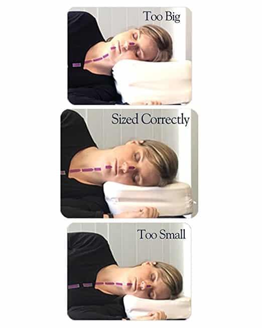 Therapeutica Sleeping Pillow - Petite