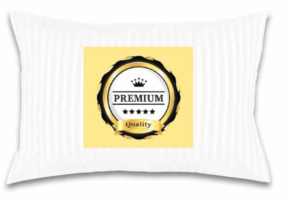 Toddler/Travel Pillow -No extra Pillowcase/Sham needed-The only Pillow with 300T Cotton and Cluster fiber fill- Hypoallergenic and Machine washable