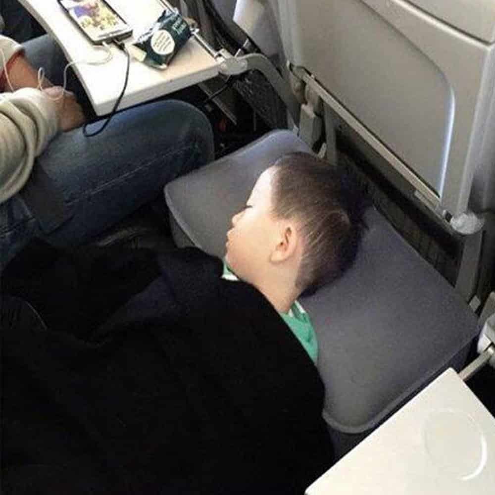 Travel Foot Rest Pillow Inflatable