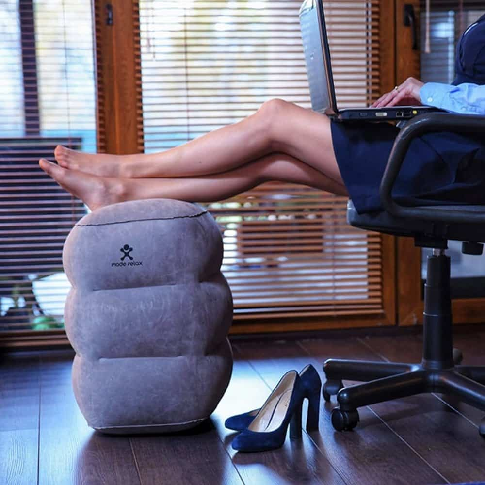 Inflatable Pillows Travel Pillow Foot And Neck Rest