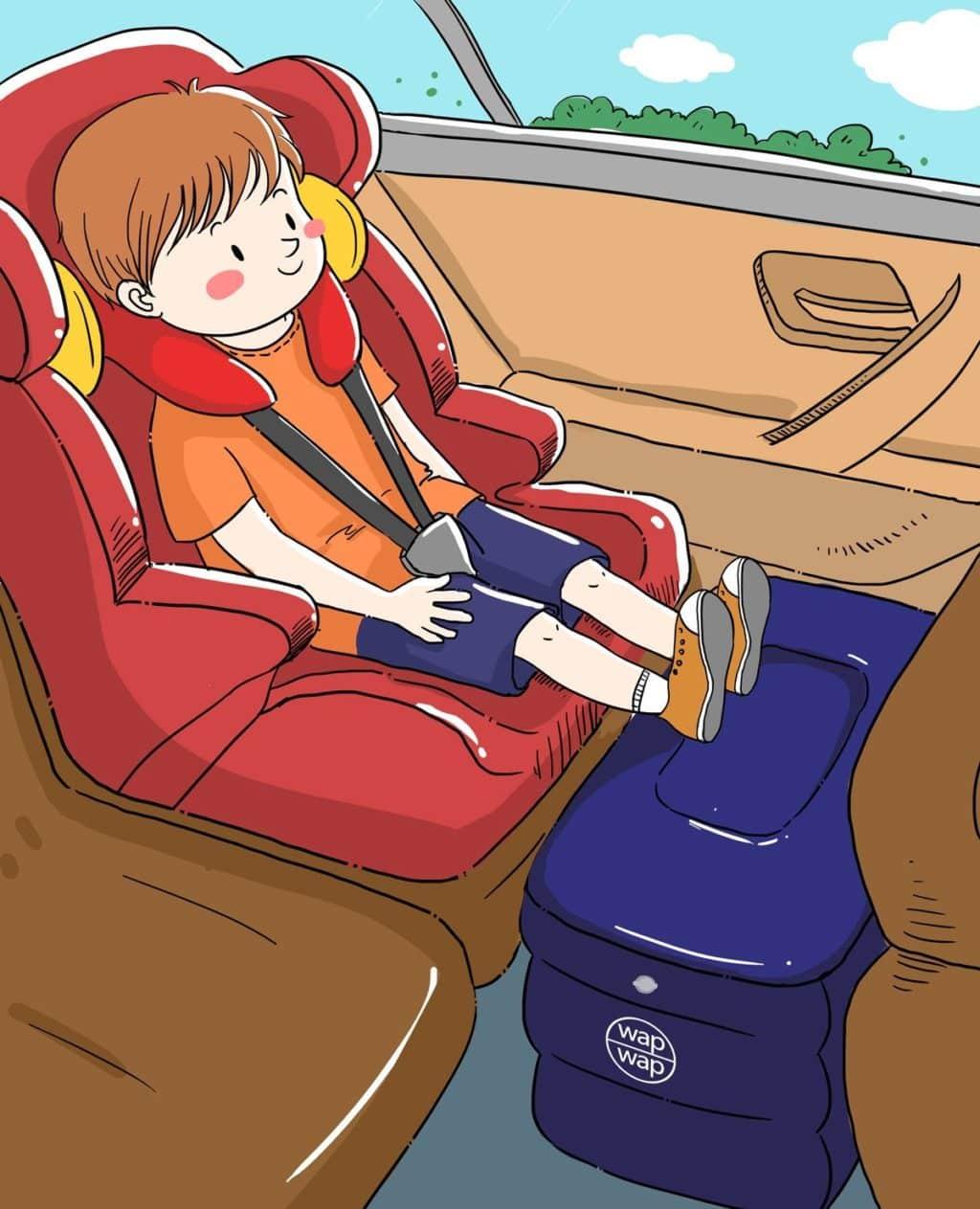 Travel Pillow For Kids Wapwap Travel Accessories