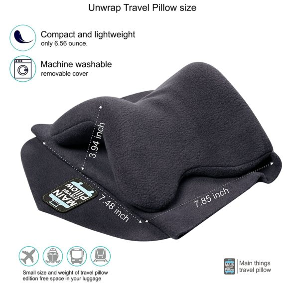 Travel pillow - Airplane pillow - Travel neck pillow - Travel neck scarf - Airplane neck pillow - Airplane travel scarf - Travel pillow scarf - Airplane sleep pillow- Airplane pillow scarf