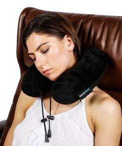TravelSnugs NeckSnug - Luxury Travel Pillow - Memory Foam Neck Pillow for Travel - by