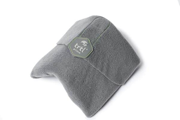 Trtl Pillow - Scientifically Proven Super Soft Neck Support Travel Pillow – Machine Washable Grey
