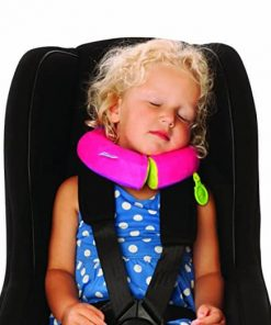 Trunki Yondi Travel Pillow, Pink, Small
