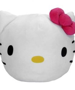 "Hello Kitty, ""Kitty Clouds"" 3D Ultra Stretch Cloud Pillow, 11"" Round"