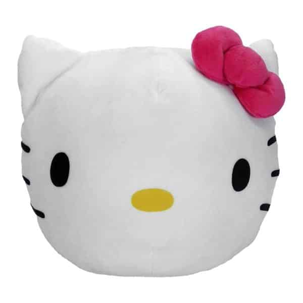 """Hello Kitty, """"Kitty Clouds"""" 3D Ultra Stretch Cloud Pillow, 11"""" Round"""