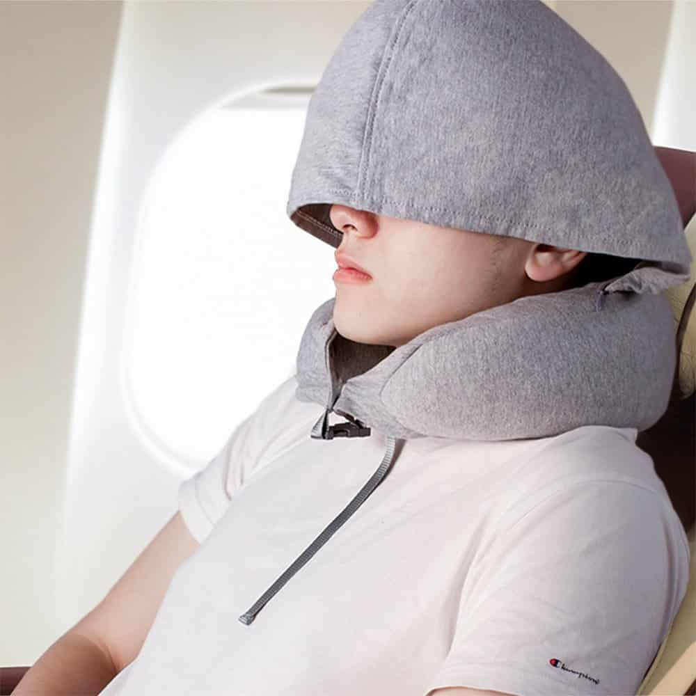 Travel Pillow Z9 Natural Latex Travel Pillow For Airplanes
