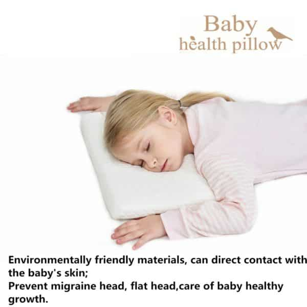 gfm Memory Foam Toddler Pillow,Breathable Kids Contour Pillows For Sleeping(15.35x8.66x1.57 In)